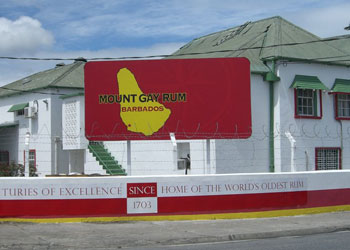 Mount Gay Rum Distillery