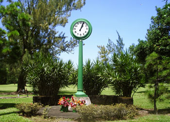 Waiakea Tsunami Memorial Clock