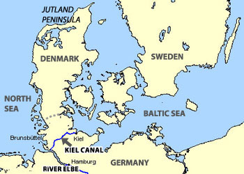Map Of Germany Landforms.Bodies Of Water European Landforms World Geography