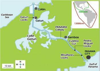 Cruises To Panama Canal (Cruising Canal) | Panama Canal (Cruising ...