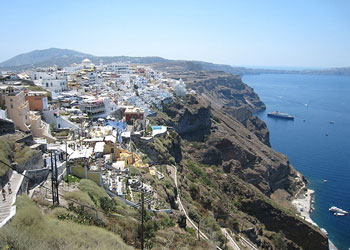 The Town of Thira