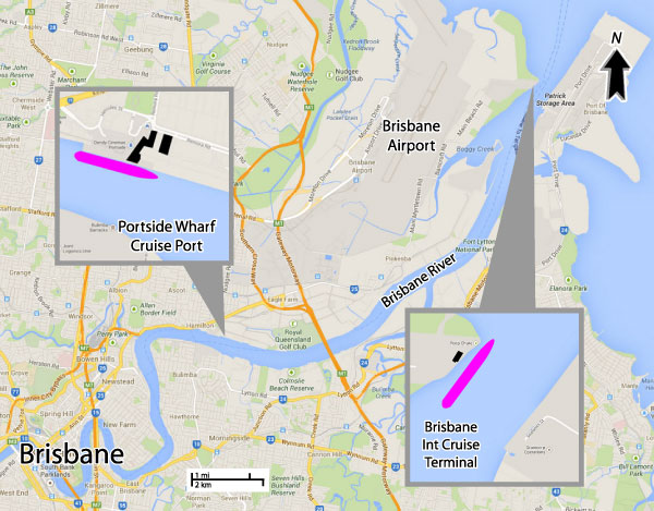 fi grain terminal brisbane map Cruises From Brisbane Australia Brisbane Cruise Ship Departures fi grain terminal brisbane map