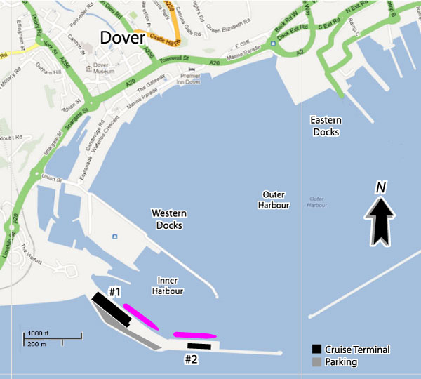 Cruises From Dover England  Dover Cruise Ship Departures