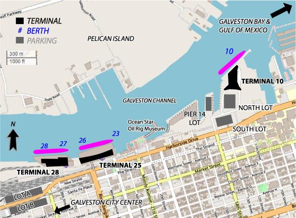 Cruises Departing Galveston