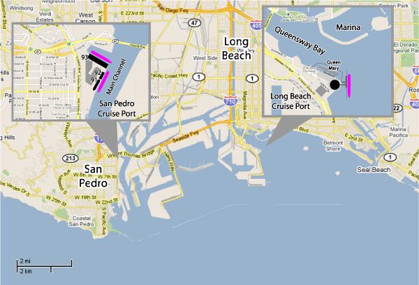 Cruises From Los Angeles California Los Angeles Cruise Ship - Los angeles cruise ship terminal