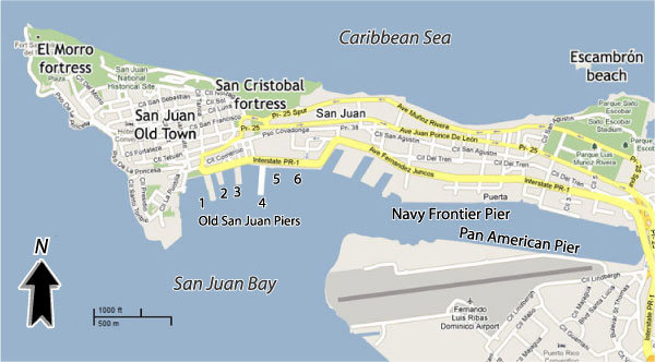 Cruises From San Juan Puerto Rico – Tourist Map Of San Juan Puerto Rico