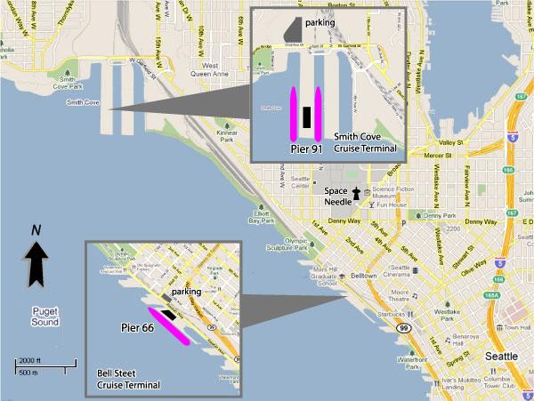 Cruises From Seattle Washington Seattle Cruise Ship Departures - Cruise from seattle