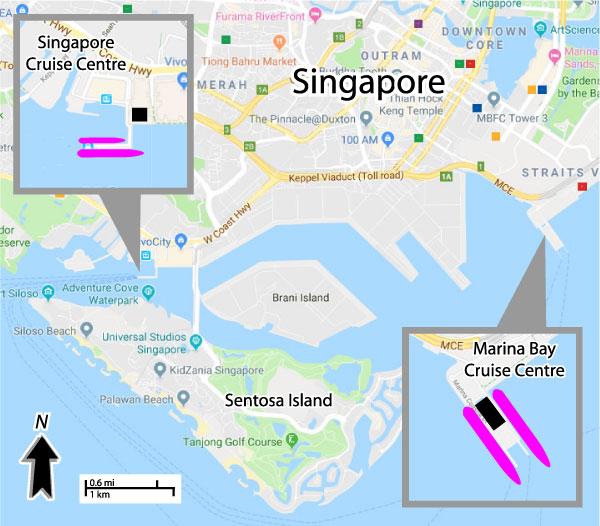 Singapore cruise port schedule 2017 | Crew Center