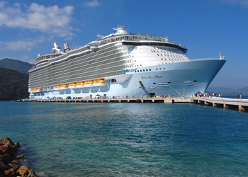Cruise Ship Allure Of The Seas Picture Data Facilities