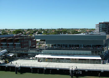 Portside Wharf Cruise Terminal at Brisbane, Australia