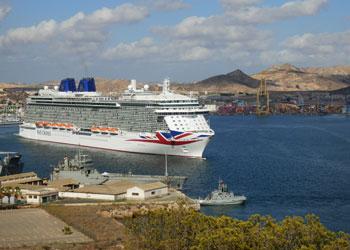Cruise Ship Britannia Picture Data Facilities And Sailing Schedule - Britannia cruise ship