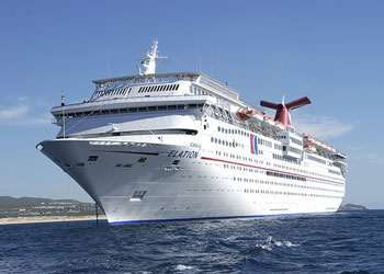 Cruise Ship Carnival Elation  Picture Data Facilities And Sailing Schedule