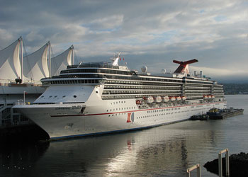 Cruise Ship Carnival Spirit Picture Data Facilities And Sailing Schedule