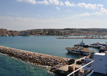 The port of Cesme, Turkey