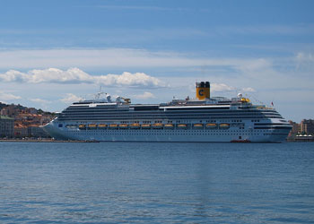 Cruise Ship Costa Favolosa Picture Data Facilities And