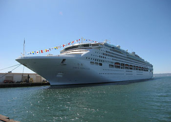 Cruise Ship Dawn Princess  Picture Data Facilities And