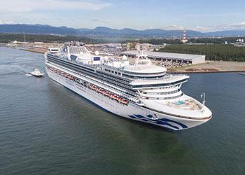 Cruise Ship Diamond Princess  Picture Data Facilities