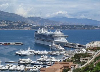 Cruise Ship Emerald Princess Picture Data Facilities And - Cruise ships in monaco today
