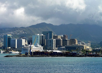 The harbor, Honolulu, Oahu