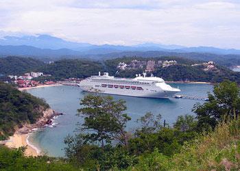 Cruises To Huatulco Mexico Huatulco Cruise Ship Arrivals