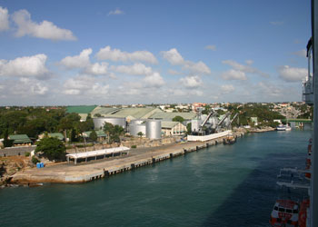 The cruise port at La Romana, Dominican Republic