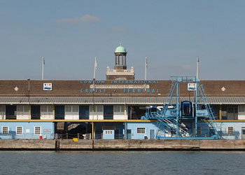 The London International Cruise Terminal at Tilbury