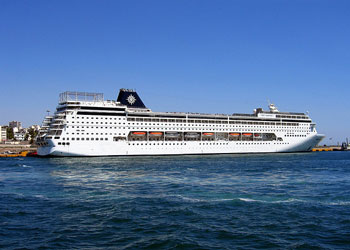 MSC Armonia Cruise Ship