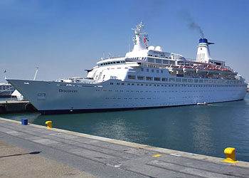 mv Discovery Cruise Ship