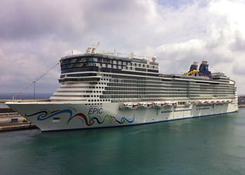 Cruise Ship Norwegian Epic Picture Data Facilities And