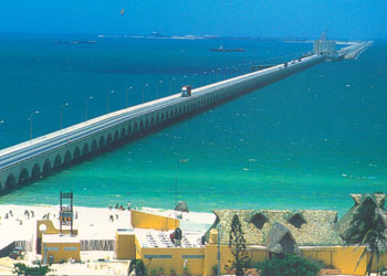 The 4 mile long pier at the port of Progreso, Mexico