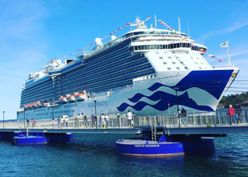 Cruise Ship Regal Princess Picture Data Facilities And Sailing Schedule