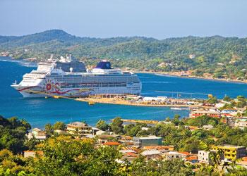 Roatan Bay Islands Honduras Cruise Port