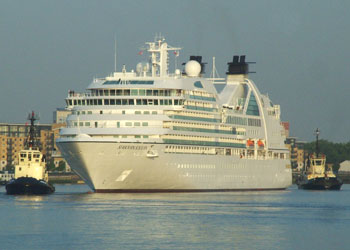 Cruise Ship Seabourn Sojourn Picture Data Facilities