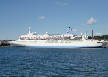 Thomson Spirit Cruise Ship