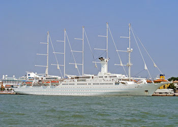 Cruise Ship Wind Surf Picture Data Facilities And